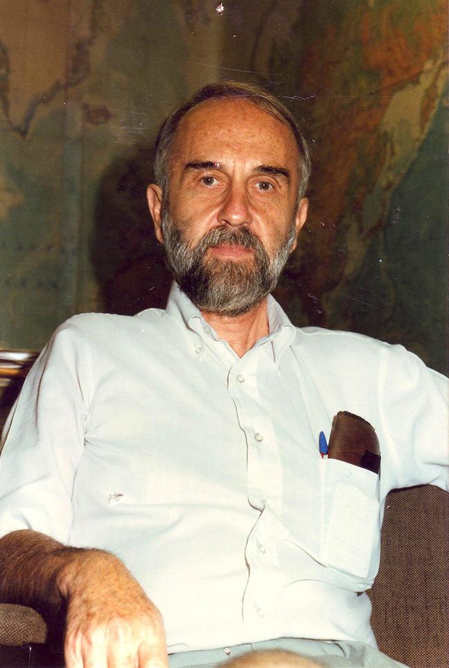 A Photograph of Calvin Schwabe