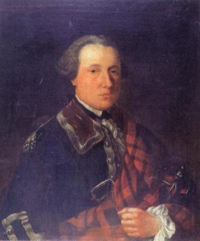 Painting of Donald Cameron of Locheil