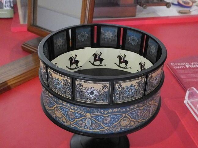 A zoetrope
