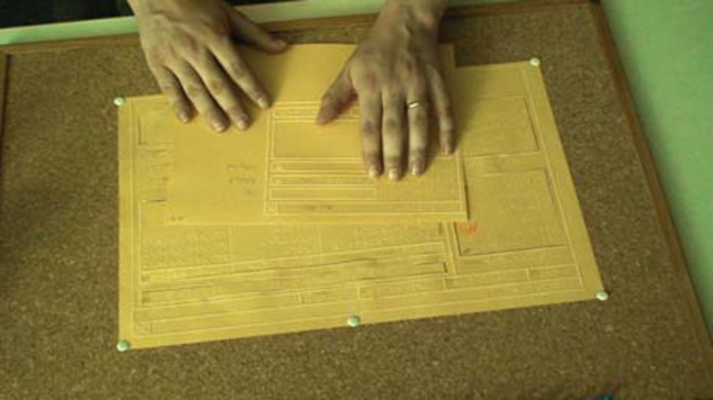 tactile paper prototype