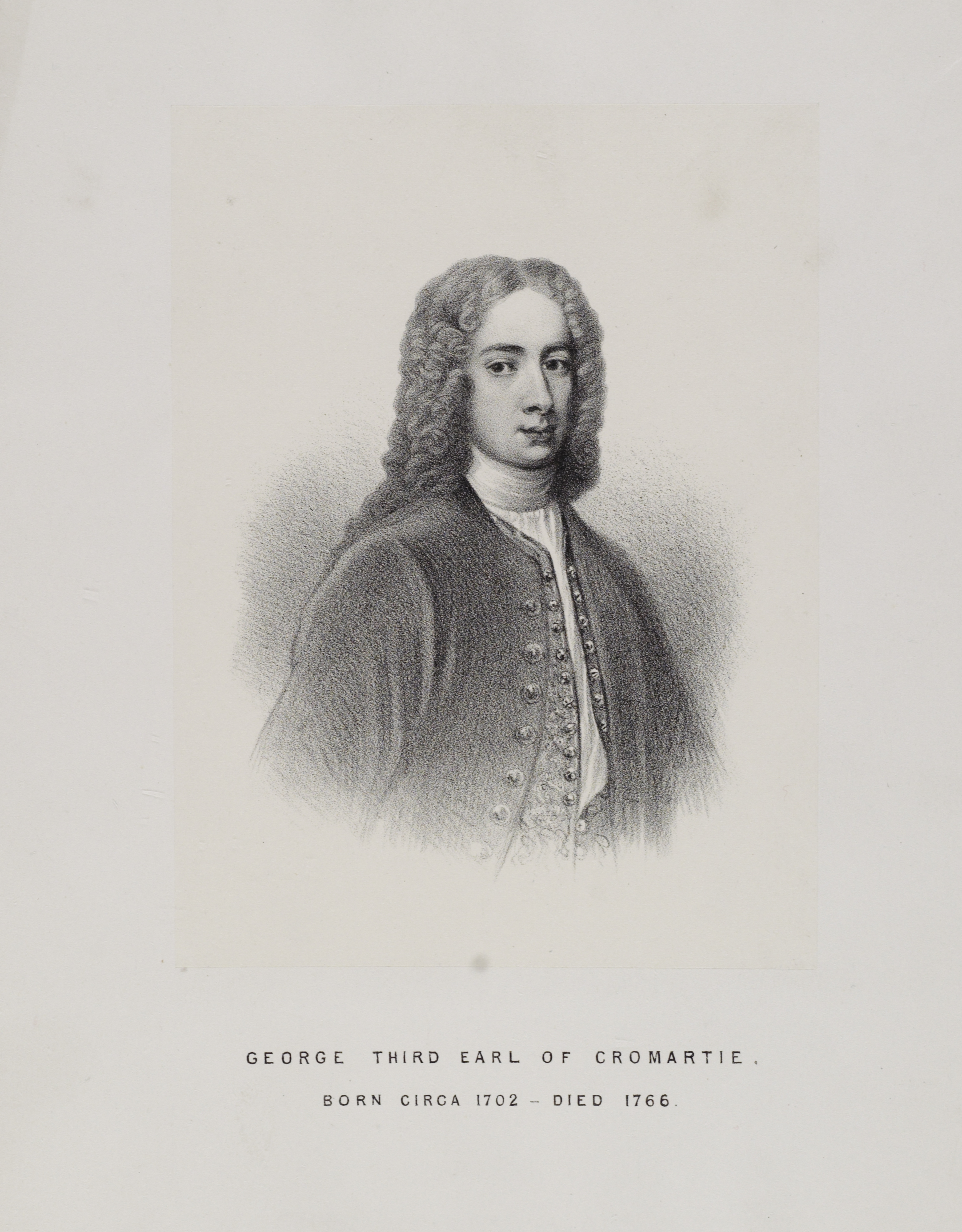 Illustration of George Mackenzie, third earl of Cromartie