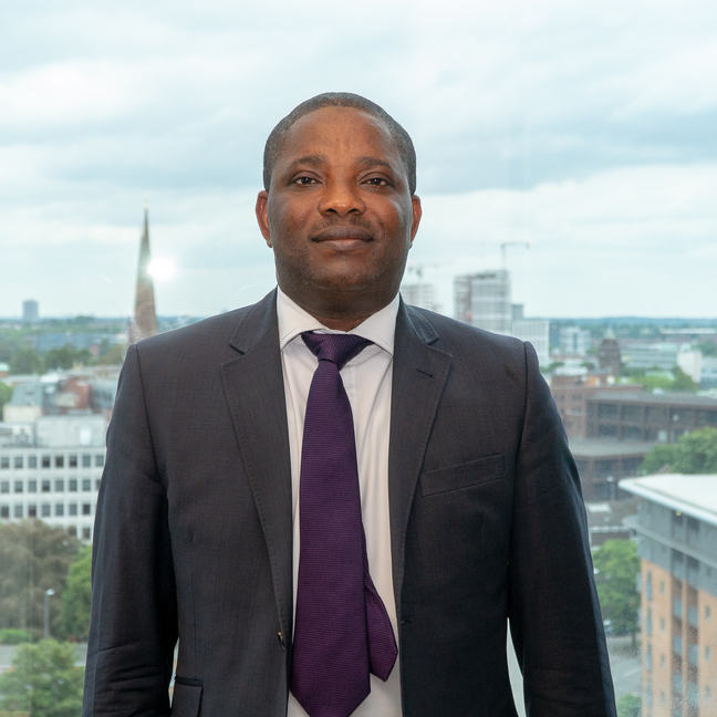 Dr Andrew Oyen Arewa