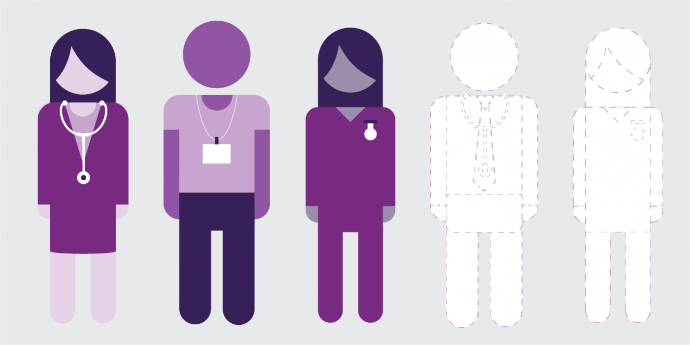 Image illustrating shortages in the NHS workforce