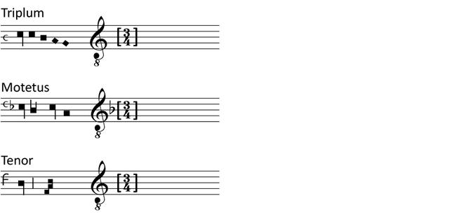 Beginning of a transcription