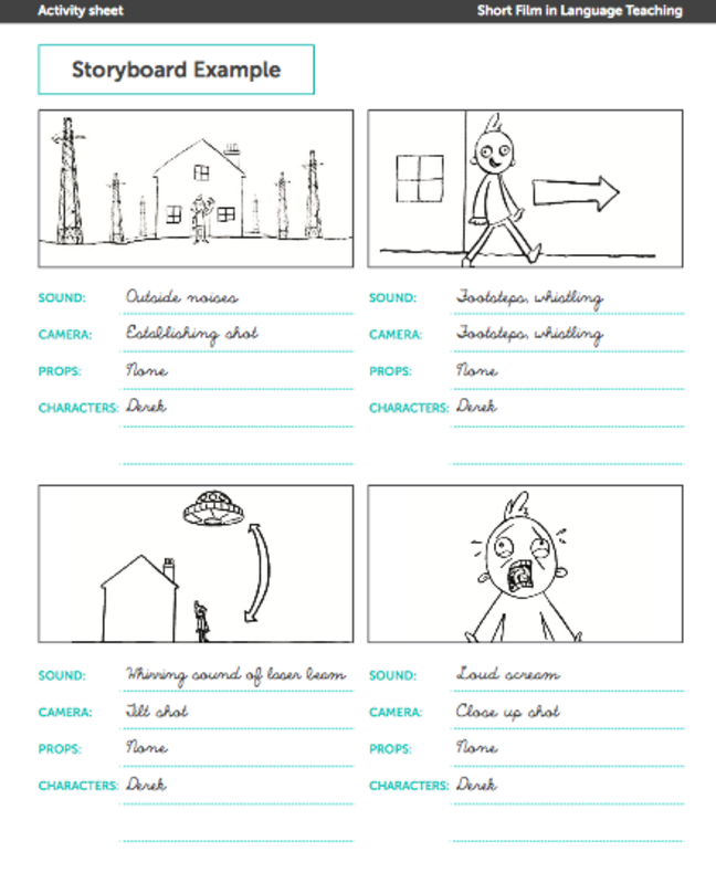 image of a storyboard