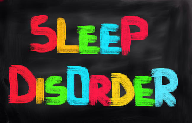 "Sign saying ""Sleep Disorder"""