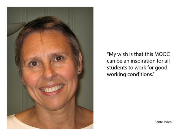 Profile picture of lead educator Bente E. Moen