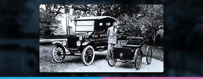 image of Henry Ford or Ford car