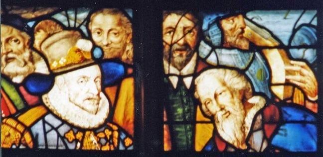 stained-glass window Willem van Oranje