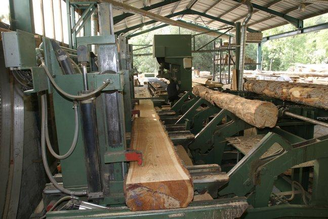 A saw mill