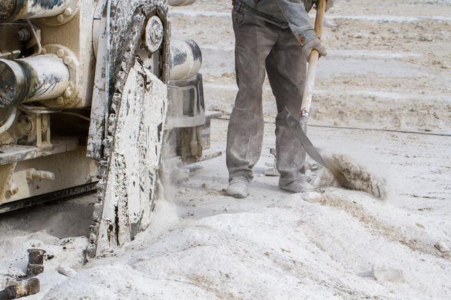 Quarry workers, miners, tunnel construction workers, and other workers who drill, blast, remove, or crush rock, are at high risk of developing work-related COPD due to high levels of dust in their working environment