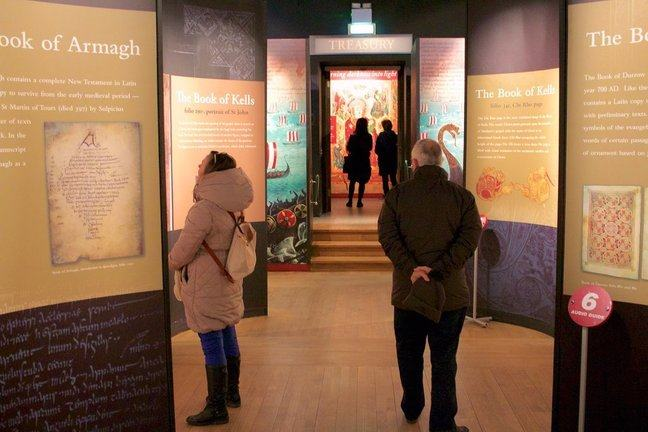 book of kells exhibition