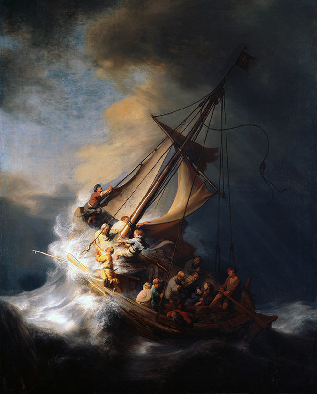 Rembrandt's Storm on the Sea of Galilee
