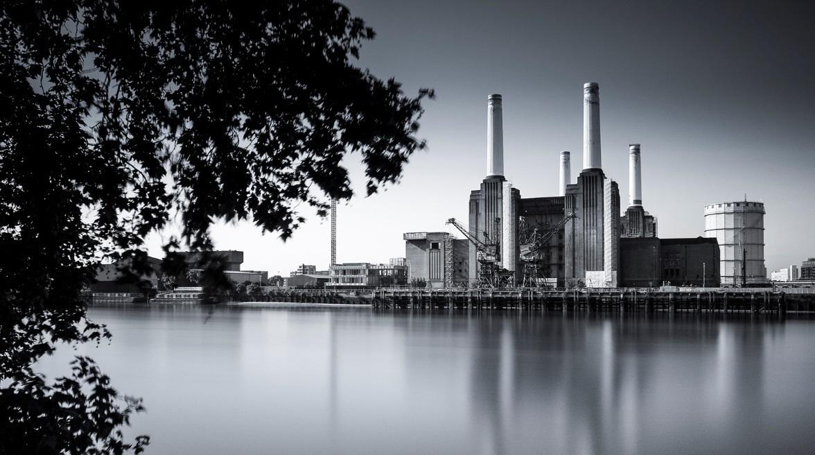 London Battery Station electricity plant