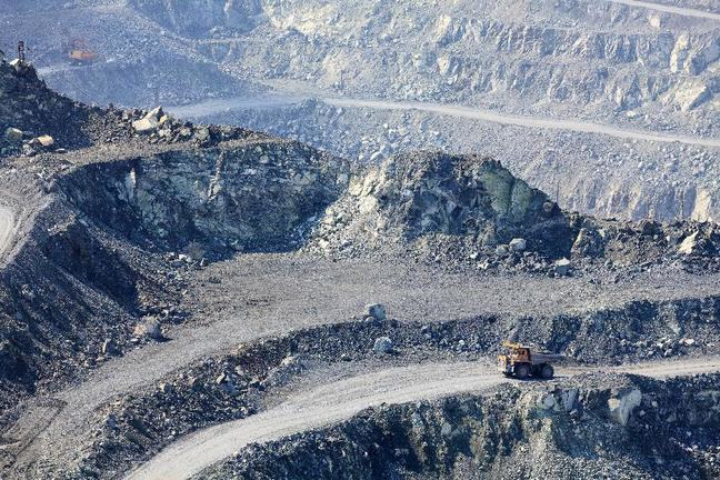 asbestos quarry