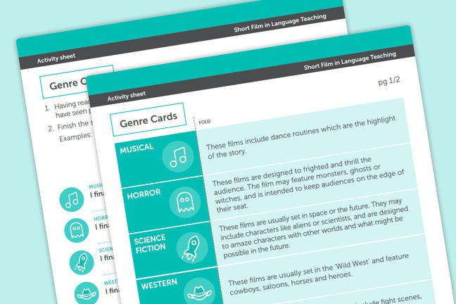 image of genre card resource