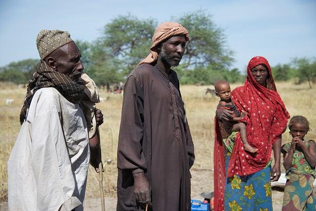 Chadian pastoralists, Gredaya