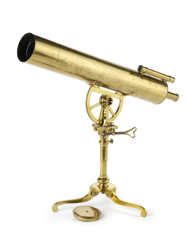Portable reflector telescope