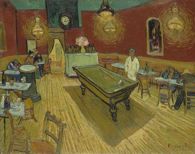 Night Cafe Arles van Gogh