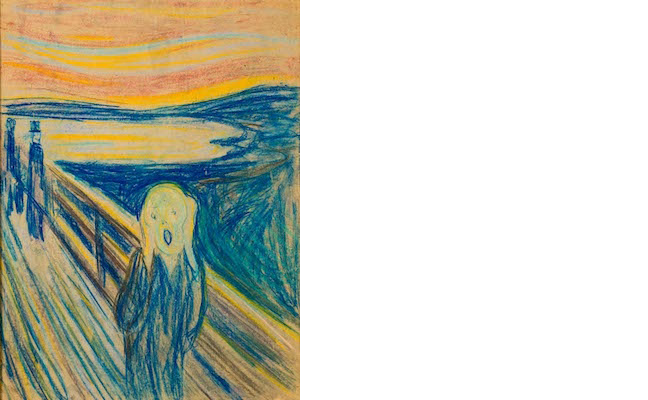 Sketch of the Scream