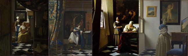 Vermeer Same Room