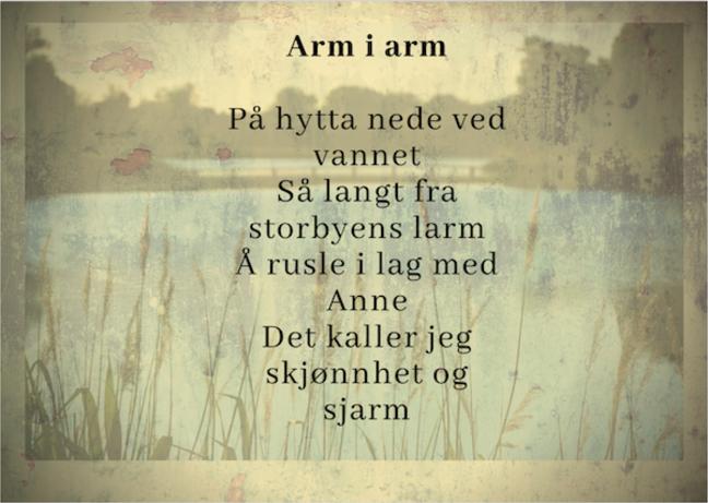 Cabin poem
