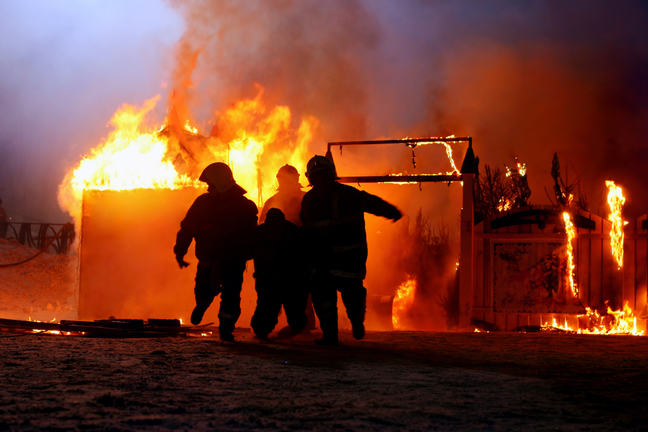 Fire fighters often experience or witness life-threatening events