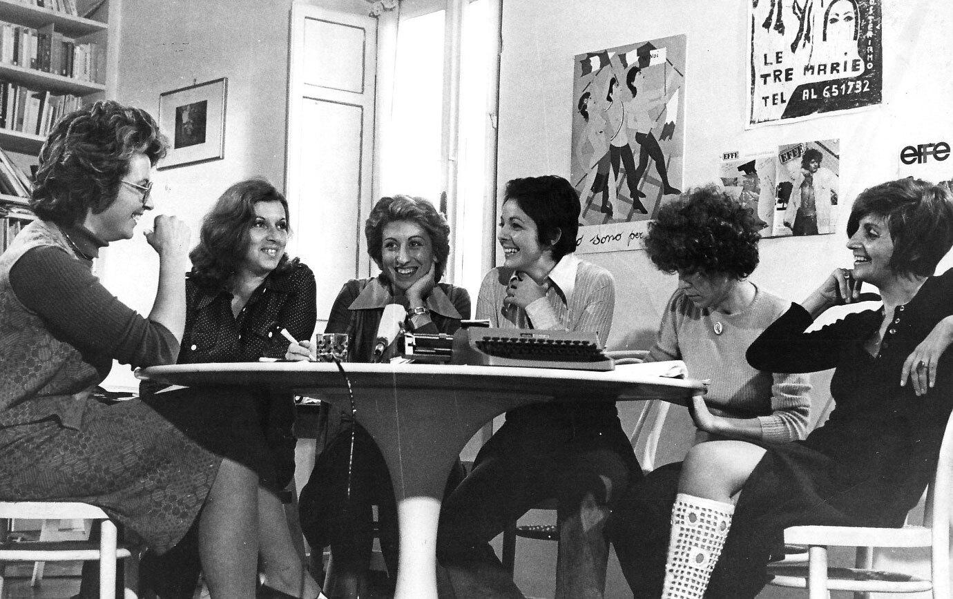 Editorial board, Effe, November 1973