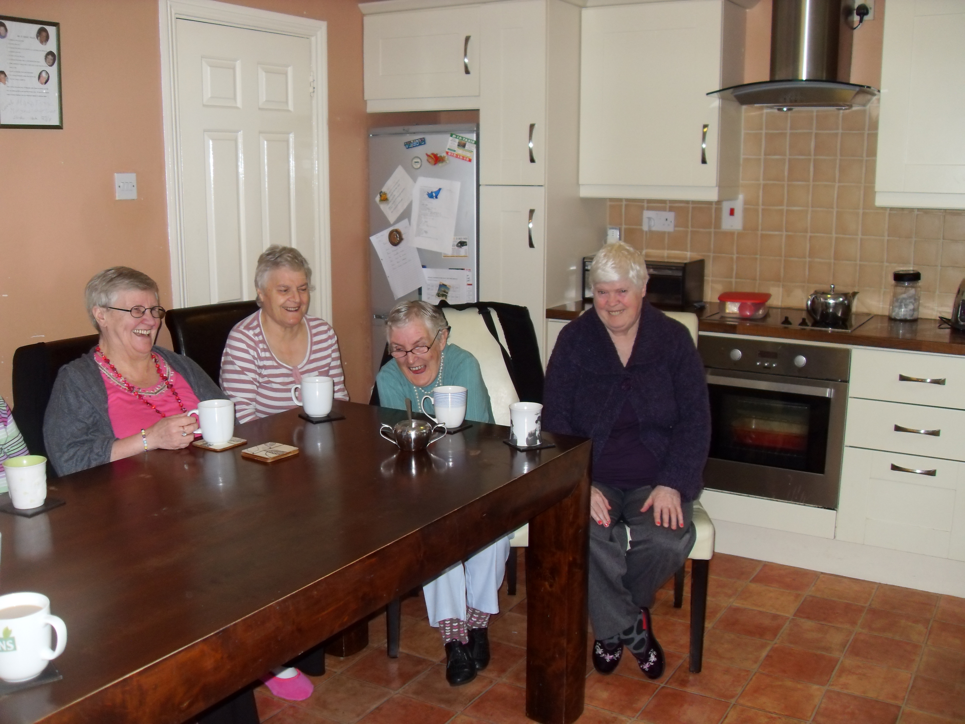 People with an intellectual disability living in a care setting