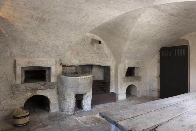 A photograph of a Georgian bake house
