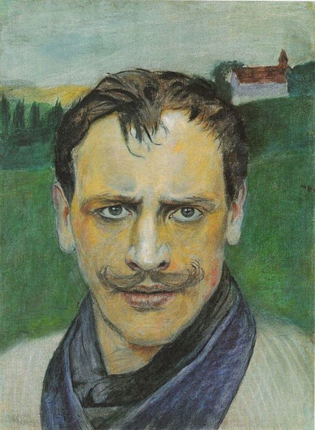 Sohlberg 's selfportrait