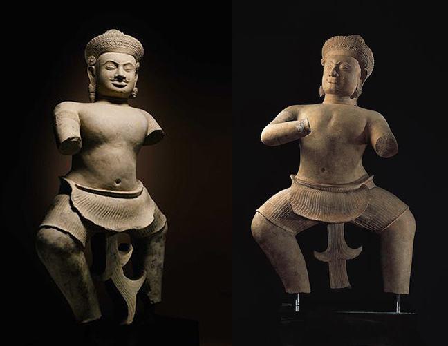 Prasat Chen Statues