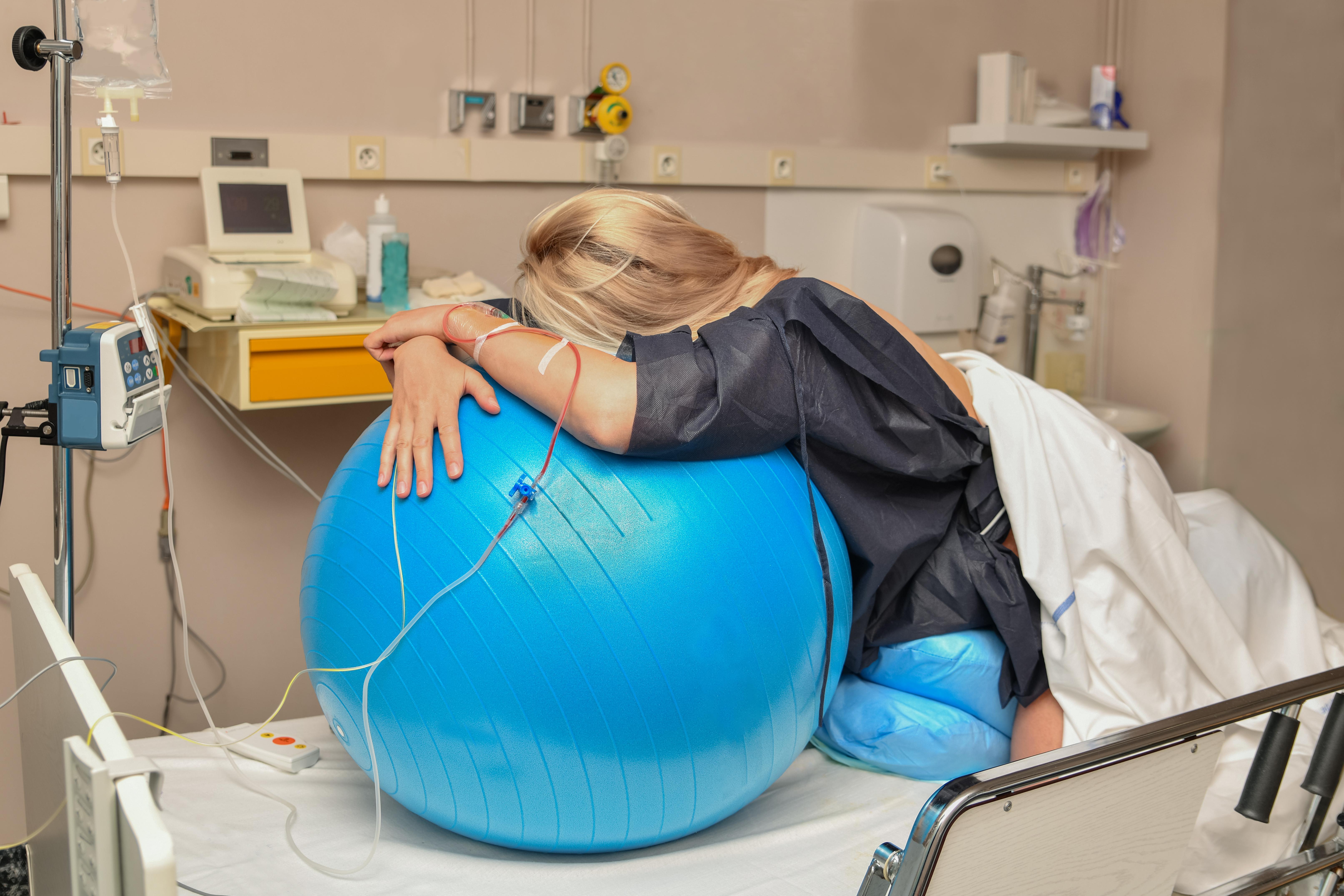 a woman using synthetic oxytocin