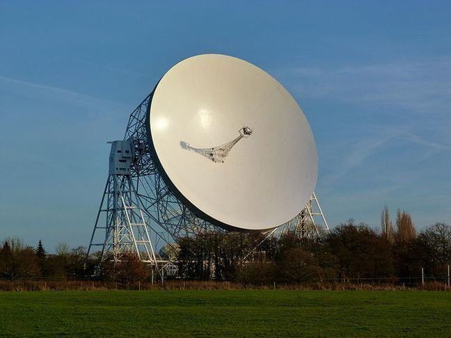 """pic of a parabolic telescope"""