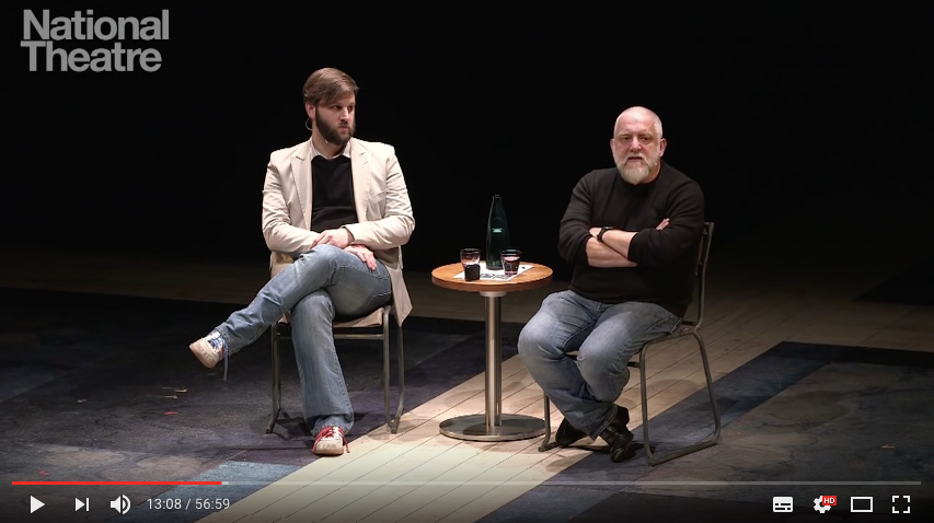 Simon Russell-Beale discussing King Lear