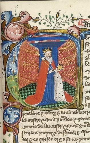 Edward III © British Library Board. From Nova Statuta c. 1451. Made available under Creative Commons CC0 1.0 Universal Public Domain Dedication