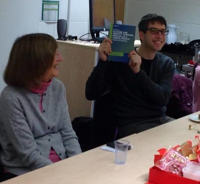Celebrating the publication of a book! © University of Southampton