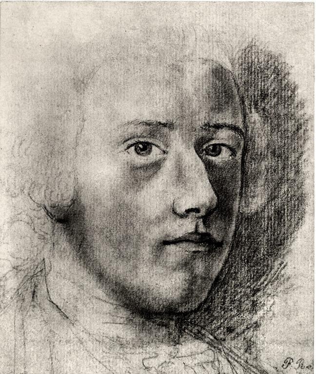 Pastel drawing of Charles Edward Stuart