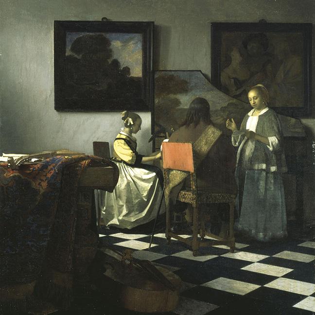 Vermeer's The Concert