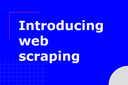 Introducing web scraping