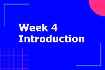 Activity image for Week 4 introduction