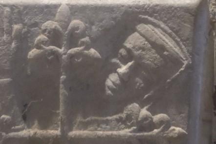 The Smiling Lady of Penshurst from Penshurst Church