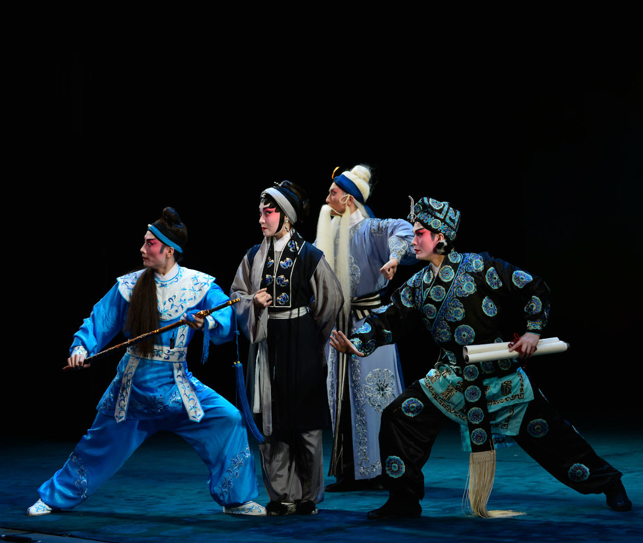 Cantonese Opera: from Backstage to the Stage