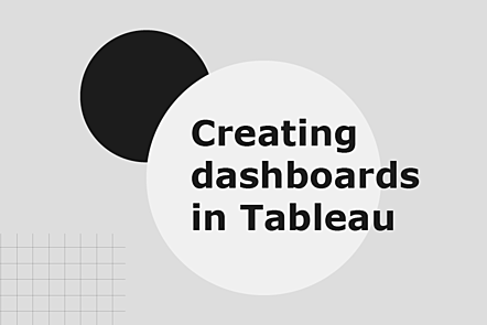 Creating dashboards in Tableau