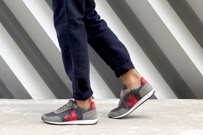 ecological sneakers from brand Veja
