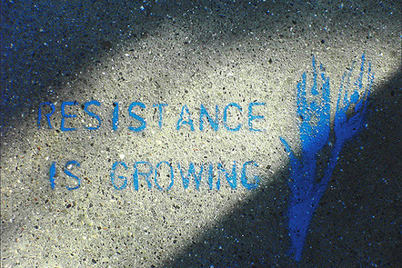 """resistance is growing"" flickr photo by seanjsavage https://flickr.com/photos/cheesebikini/55005984 shared under a Creative Commons (BY-SA) license"