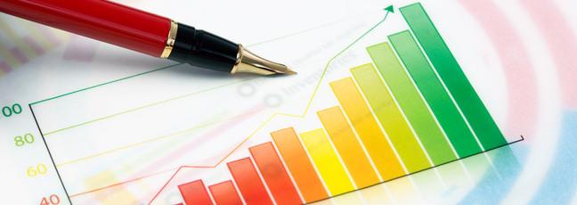 A bar graph
