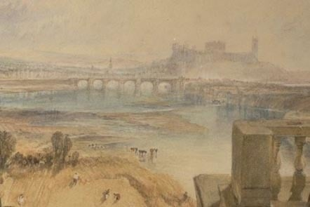 Turner's view from the aqueduct bridge
