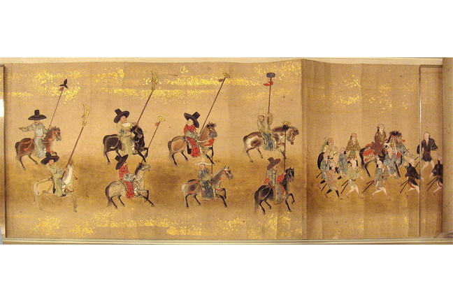 Korean Embassy to Japan, 1655, attributed to Kano Toun Yasunobu