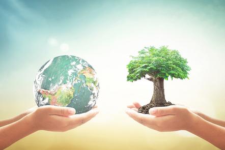 Corporate social responsibility (CSR) concept.